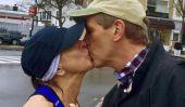 L'histoire derrière cette virale marathon de Boston baiser = mieux que vous l'imaginiez
