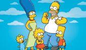 """""""Les Simpson"""" TV Seres Enfin dirigez vers la Chine"""