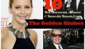 Les 10 moments les plus controversés, maladroit, et mémorables des Golden Globes