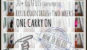 20+ tenues et deux semaines dans un Carry On: Comment I Did It