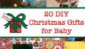 20 cadeaux de Noël de bricolage pour bébé