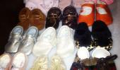 Kim Kardashian Tweets toute la collection de chaussures Kardashian et Disick famille (Photos)