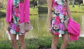 12 Idées Outfit: rouge, rose et violet