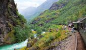 réseau de chemin de fer en Norvège - un voyage en train jusqu'au cercle polaire arctique est si