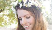 Comment faire une couronne de fleurs (sur un budget!)