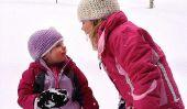 Un Parfaitement scintillant, Cozy Jour de neige sur la famille (PHOTOS)