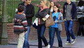"""Modern Family"" va à Disneyland!  Vérifiez leurs Fun Pics (Photos)"