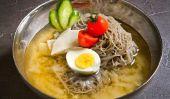 La cuisine coréenne réel, végétarien de style