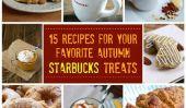 15 Recettes pour votre chute Favorite Starbucks Treats