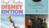 Bienvenue royale bébé: 9 familles les plus célèbres de Disney royaux