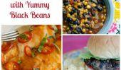 7 repas en famille avec Haricots noirs délicieux pour une semaine chargée