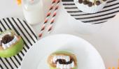 Friandises Halloween Party pour les enfants - Fingers Monster et Crocs d'Apple