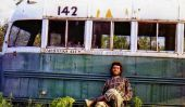 "Abandonné ""Magic Bus"" de Christopher McCandless"