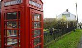 Cabine téléphonique bibliothèques de Grande-Bretagne