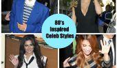 Kim Kardashian, Rihanna et autres célébrités qui porte le retour dans le style des années 80 (Photos)