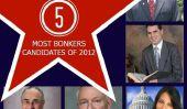 Le top 5 des candidats politiques le plus complètement Bonkers de l'année 2012