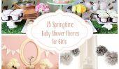 25 douche Springtime bébé Thèmes pour les filles