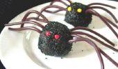 Célébrez l'Halloween avec araignées de truffes au chocolat