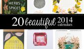 20 Superbe Calendriers 2014