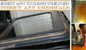 Le plus rapide façon de nettoyer votre four sans produits chimiques