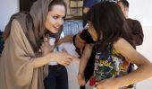 Angelina Jolie Oscar du travail humanitaire: Actrice pour recevoir Statuette de philanthropie
