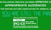 Beef parents avec la MPAA Rating System: Est-il temps pour une mise à jour?