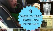 9 façons de garder les enfants dans la voiture cool cet été