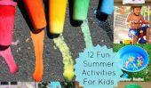 12 Activités d'été pour garder les enfants occupés