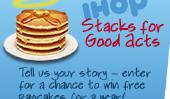 Célébrer la Journée nationale Pancake 2011 avec IHOP et gratuites Crêpes Pour une bonne cause
