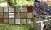 8 Impressionnant recyclé Clôtures
