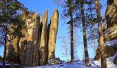 The Rock Pillars Of Nature Reserve Stolby Krasnoyarsk