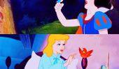Cette fille est amis avec les oiseaux, comme une vraie vie de princesse Disney