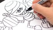 Comment dessiner 7 de vos personnages préférés Halloween!