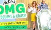 OMG Nous avons acheté une maison!  Episode 7: The Living Room!  (Partie 1)