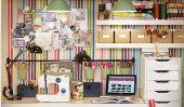 20 Idées Crafty Workspace + stockage de Ikea