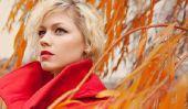 Make-up - comment pouvez-vous faire jusqu'à vêtements rouges