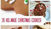 26 Easy Christmas Cookie recettes pour faire (et manger) avec des enfants!