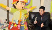 Wilmer Valderrama sur Handy Manny de Disney et Show That 70
