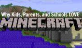 Minecraft pour les enfants?  Pourquoi les écoles et les parents sont encourageants Jeu Vidéo Lecture