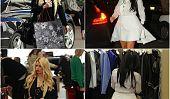 Bataille des bosses: Kim Kardashian et Jessica Simpson shopping Style (Photos)