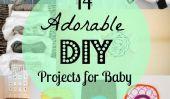 14 Projets de bricolage adorables pour bébé