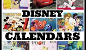 18 Adorable Disney Calendriers pour 365 Days of Magic