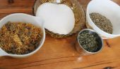 Natural soins post-partum: bricolage Herbal Sitz Bath