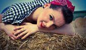 Rockabilly séance photo - conseils pour le maquillage correspondant