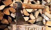 Le chauffage au bois - donc vous chauffer droit au four