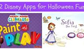 Deux Disney applications pour Halloween Fun