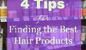 4 conseils pour trouver les meilleurs produits de cheveux
