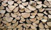 Construire un abri pour bois de chauffage - si ça va marcher