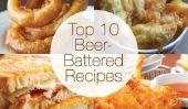 Top 10 des recettes de bière-battue