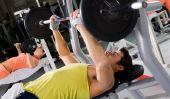 Faire la poitrine entraînement correctement - Dips
